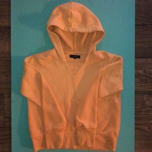 LA Hearts cropped hoodie